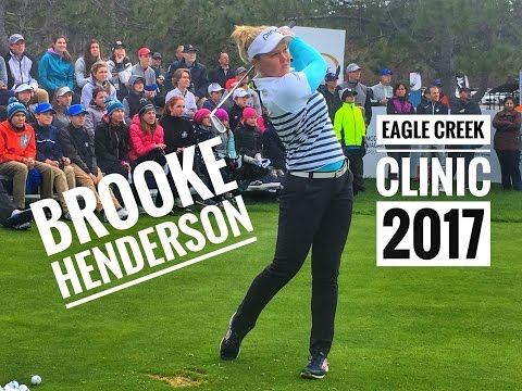 Brooke Henderson Clinic - Eagle Creek GC 2017