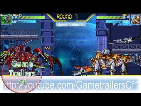 Game Dino Robot Lap Rap Robot Chien Dau Scorpion Vs Tarantula - Game Trailers Cf