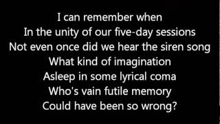 Dream Theater-A Fortune In Lies (Lyrics)