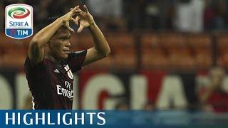 Milan 2-1 Empoli - Highlights - Giornata 2 - Serie A TIM 2015/16