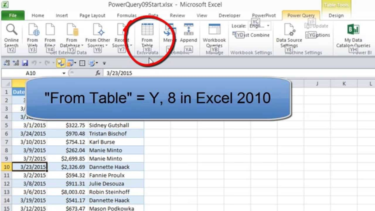 Excel Power Query 09 Merge Multiple W Ksheets W Kbook To