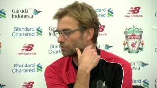 Liverpool boss Jurgen Klopp swears about Crystal Palace defeat!