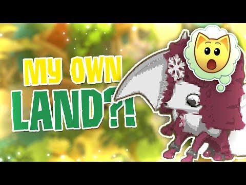 ANIMAL JAM MY OWN LAND?!
