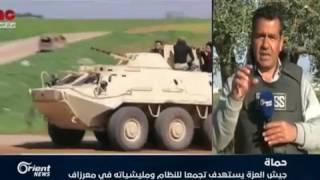 الفصائل المقاتلة  تعلن عن بدء المرحلة الثالثة من معركة في سبيل الله نمضي في حماة