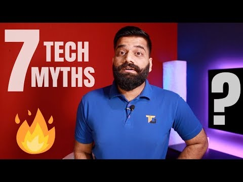 7 Tech Myths Debunked - Myth Buster