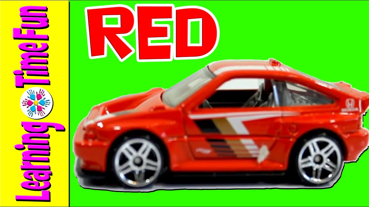 Spell Colors with HOT WHEELS | Sports Car | Preschool Colors ...