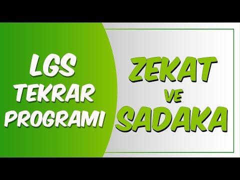 LGS Tekrar Programı Din Kültürü |  Zekat ve Sadaka