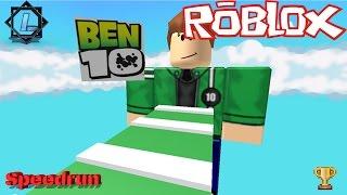[ROBLOX| SPEEDRUN] ESCAPE BEN 10 OBBY! | 5:30 min. » Ludaris