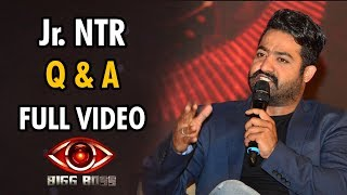 Jr NTR's Question & Answer With Media @ Bigg Boss Telugu Launch - Full Video - TV9