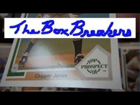 1991-chipper-jones-rookie-upper-deck-baseball-cards-factory-sealed-box-opening-psa-grading-process