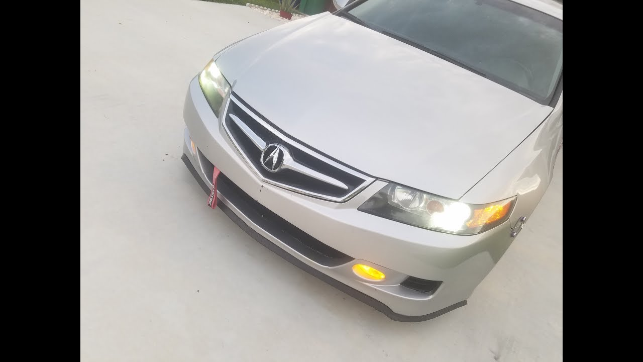 acura tsx 2008 hid kit install replacement  [ 1280 x 720 Pixel ]