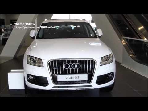 2013 Audi Q5 facelift exterior