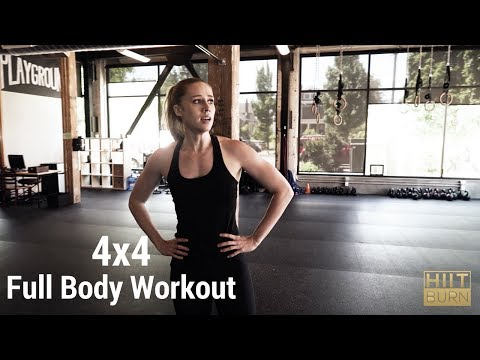 4x4 Full Body Density Workout
