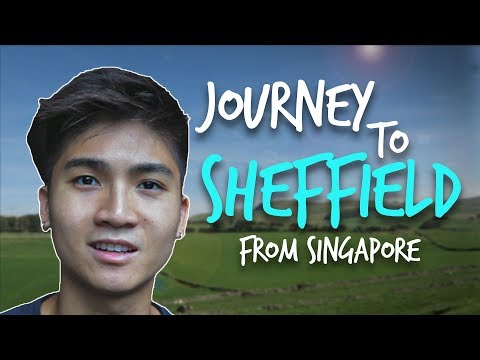 From Singapore to Sheffield | Ryan's Journey to Sheffield 2019