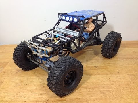 Axial Wraith Super Shafty and Brushless Upgrade
