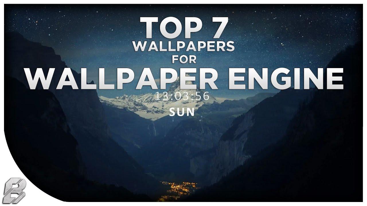 Top 7 Free Wallpaper Engine Wallpapers Download Links