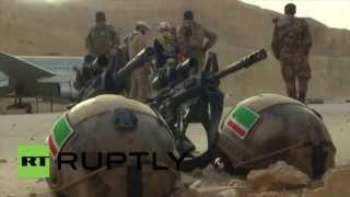 Jordanie : l'armée russe à la compétition internationale des forces spéciales
