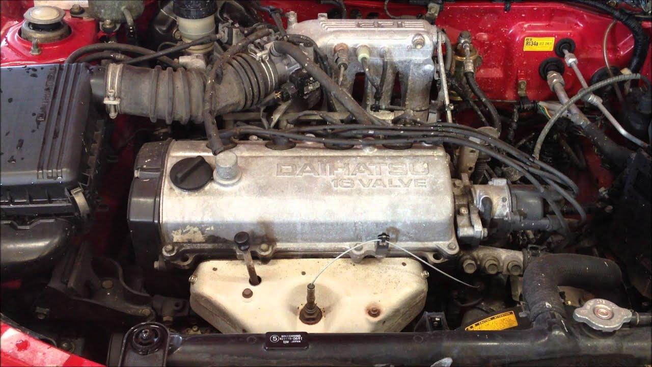 DAIHATSU APPLAUSE Li 1994 1589 cc Motor  YouTube
