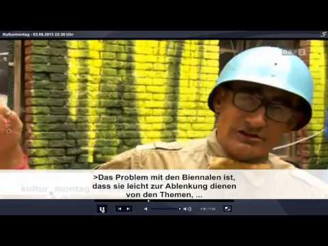 Austria TV : BIENNALIST CRITICAL FORMAT at the Venice Biennale