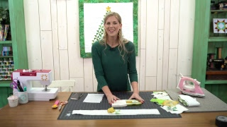 REPLAY: Quilt up a Pinwheel Christmas Tree Wall hanging with Misty