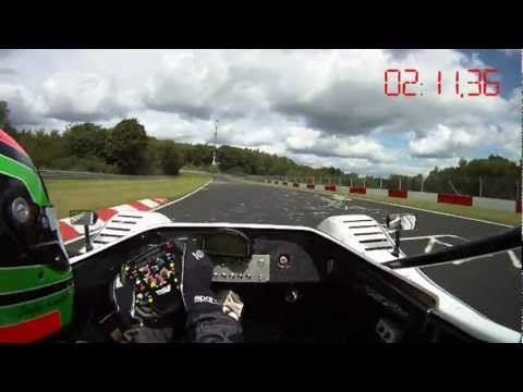 Toyota Motorsport set world record for electric vehicles on nordschleife 2011 - onboard video