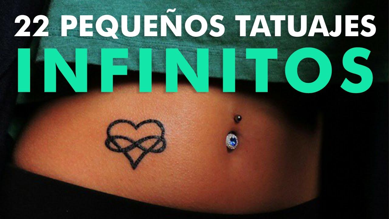 22 Pequeños Tatuajes Infinitos Youtube