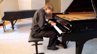 Johann Sebastian Bach - WTK II - Praeludium und Fuge in D, BWV 874 (Jan Dušek-piano)