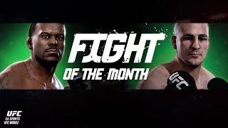 EA SPORTS UFC Mobile. Fight of the month - Michael Johnson / Diego Sanchez.