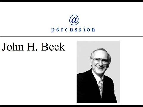 @ Percussion 108 with John Beck