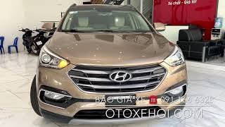 Bán xe ô tô cũ Hyundai Santafe siêu đẹp vừa cập bến