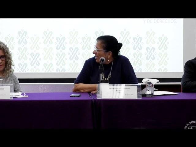 Discurso de Nashieli Ramírez en la Inauguración del Seminario Política Social y Democracia