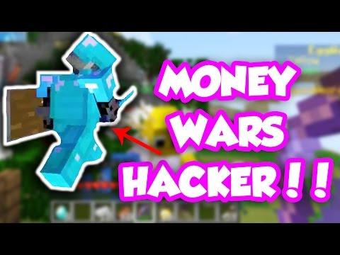 HE'S DEFINITELY HACKING!!   Minecraft: Money Wars #11 (PVP 1.9)