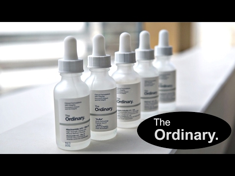 The Ordinary Review Pt.1 | Buffet, Niacinamide, HA+B5, Arbutin, Matrixyl