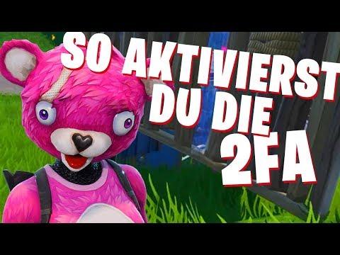 Fortnite 2 FA AKTIVIEREN 🔥 TUTORIAL Zwei-Faktor-Authentifizierung (2FA) Epic | PS4 PC XBOX Deutsch