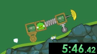 I tried speedrunning Bad Piggies and barely preserved my sanity...