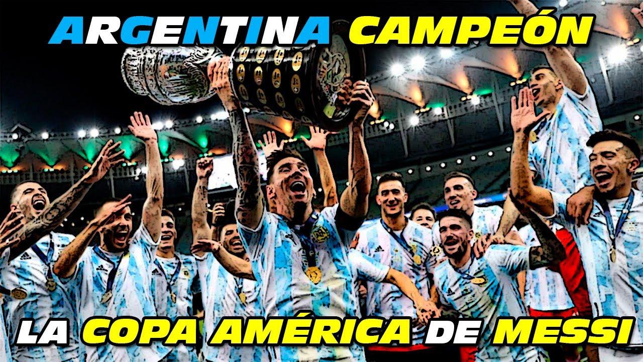 ARGENTINA 🇦🇷 Campeón 🏆 COPA AMÉRICA 2021