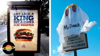 10 najlepszych działań Burger Kinga przeciwko McDonald