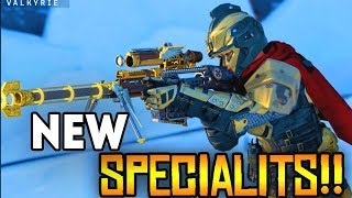 New Specialist BO4 Absolute Zero, New Weapon Variants (Trailer Reaction)