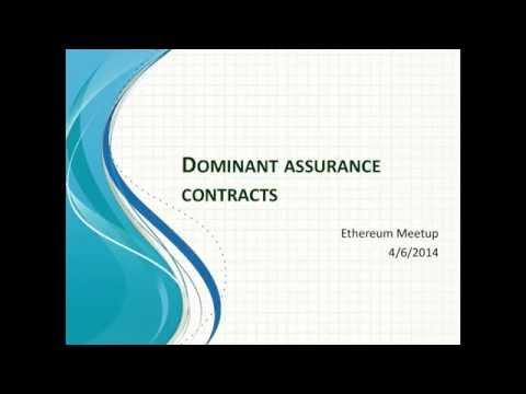 Crowdfunding: Dominant Assurance Contracts