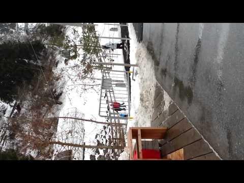 Random ski tourist in Laax, Indy funny