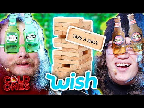 Testing the CHEAPEST (Worst) Drinking Games from Wish - Cold Ones