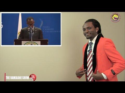 "The Ramjaane Show in America - H.E Paul Kagame ati ""SIBOMANA"" (Rwanda Comedy) full show April 2017"