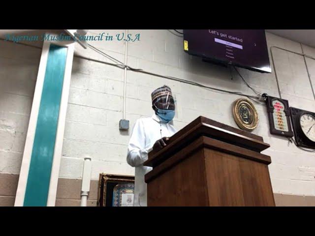 Jumah Khutbah | Imam Olalekan Jamiu Salami