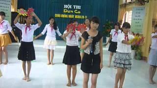 Bài hát: Người thầy. Em Mai Thị Ly trình bày.