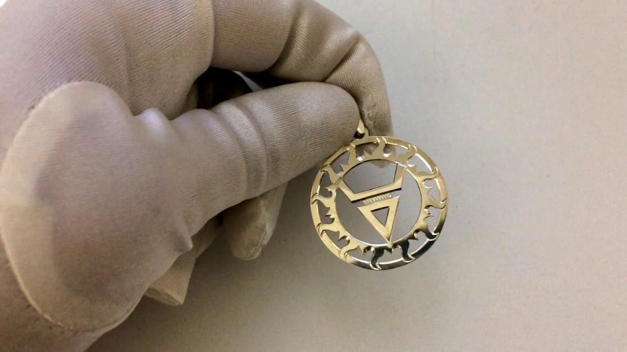 Символ Велеса  Славянский оберег.  Его значение . Серебро 925. Ручная работа.