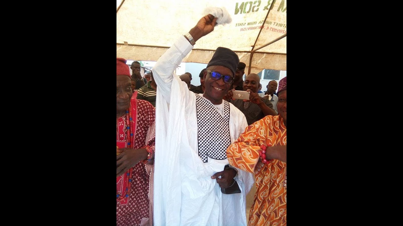 Download Igbesa Thrown Into Wild Jubilation As The Oba Elect Pays Unscheduled Visit