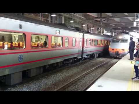 台鐵-自強號-桃園火車站-Taiwan Railways Administration-Tze-Chiang Limited Express-Taoyuan Station-December 2016