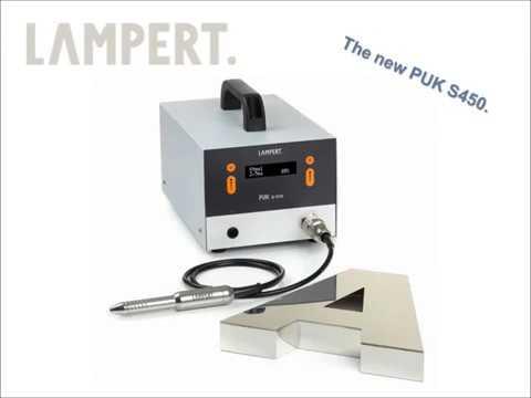 Channel Letter Welding - Lampert S450 Teknik Döküm EN