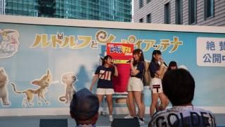 2016年8月21日 汐留ロコドル甲子園でのぽすてぃこのライブ ぽすてぃこは...