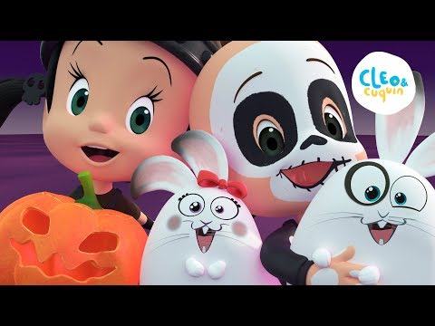 Halloween at School! Full episode of Cleo and Cuquin in english